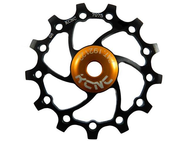 KCNC Jockey Wheel Original SS Bearing Long Teeth 13 Zähne black